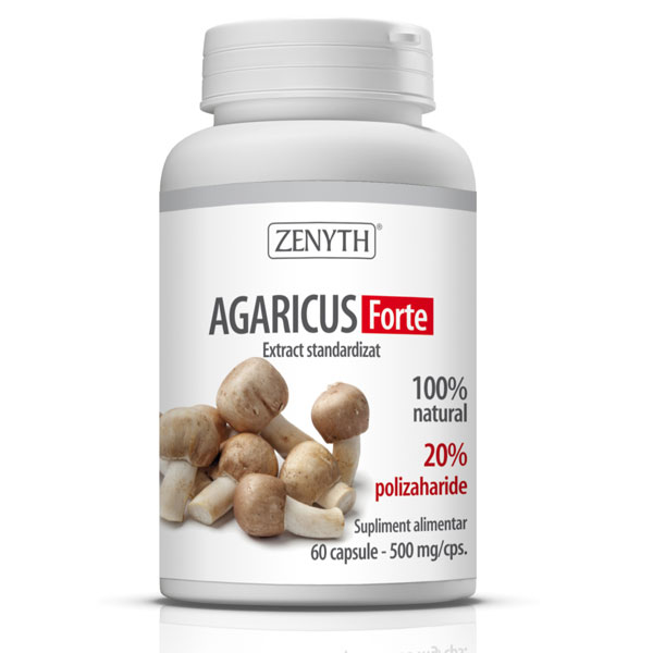 Agaricus Forte 60capsule x 500mg Zenyth