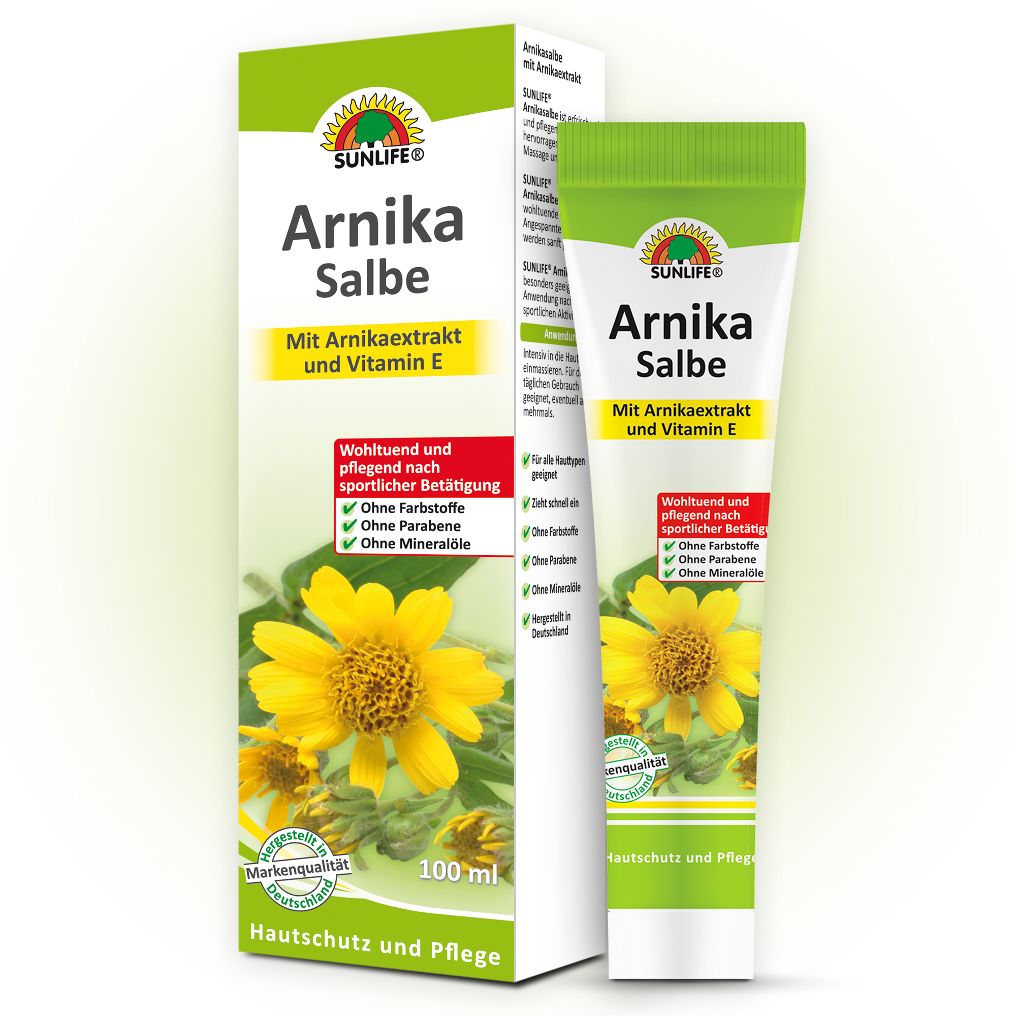 Crema antireumatica cu extract de Arnica – 100 ml
