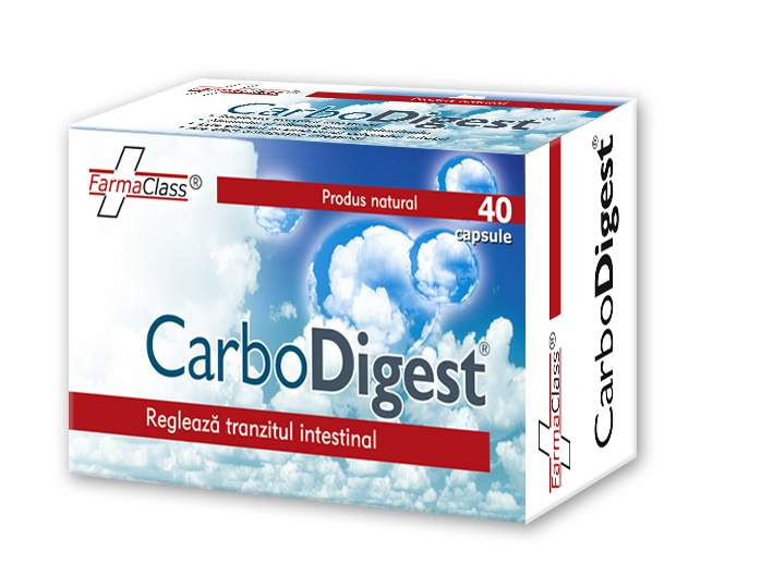 Carbodigest x 40 capsule