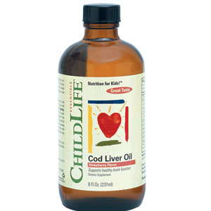 Cod Liver Oil (copii) 237ml ChildLife