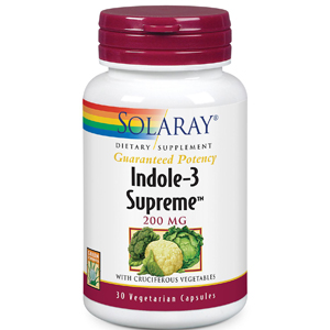 Indole-3 Supreme 30cps Solaray