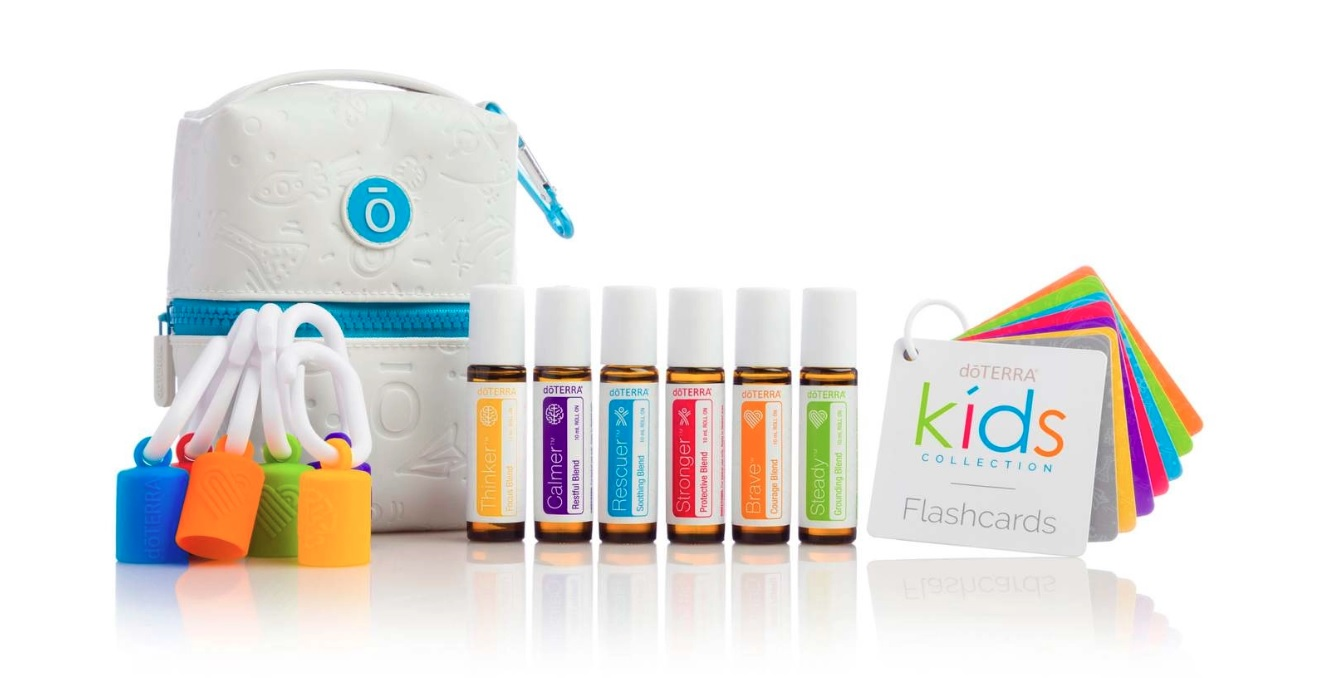 DoTerra set uleiuri esentiale Kids Collection 6x10 ml