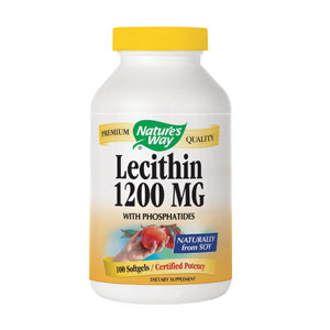 Lecithin 1200mg 50cps Nature's Way