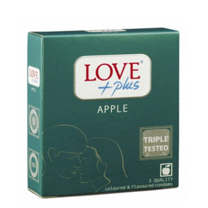 Prezervative Love Plus Apple