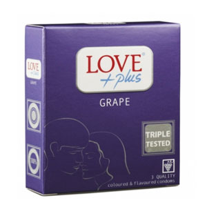 Prezervative Love Plus Grape