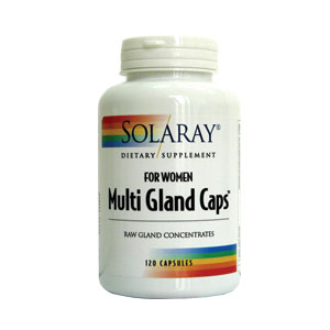 Multi Gland Caps For Women 120cps Solaray