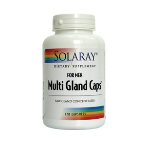 Multi Gland Caps  For Men 120cps Solaray