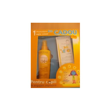 Oferta Caseta Bioderma Photoderm Spray SPF 15+