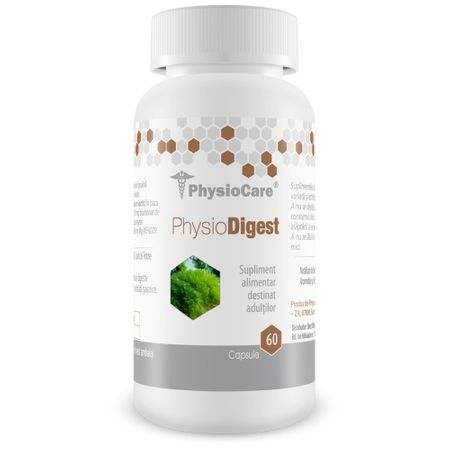 PhysioDigest – impotriva afectiunilor digestive – 60 cps