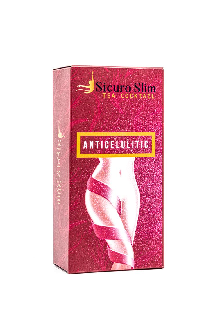 Sicuro Slim Cocktail Tea Anticelulitic – ceai anticelulita