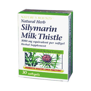 Sylimarin 1000mg Natures Bounty
