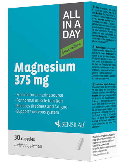 SensiLab ALL IN A DAY Magnesium 375 mg minerale
