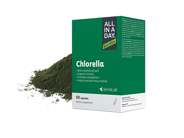 SensiLab ALL IN A DAY Chlorella pentru detoxifiere
