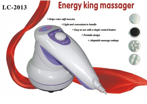 Energy King Massager - Aparat de masaj, relaxare si tonifiere