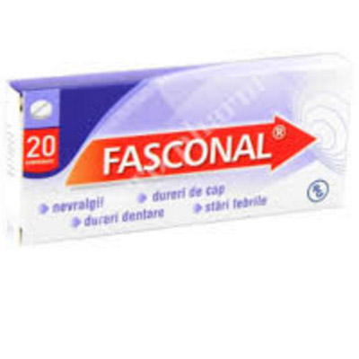 Fasconal x 20 cpr