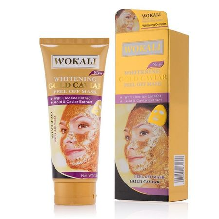 Whitening Gold Caviar Peel of Mask
