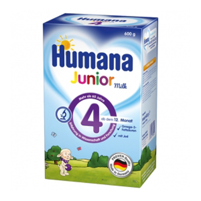 HUMANA Junior Milch 4