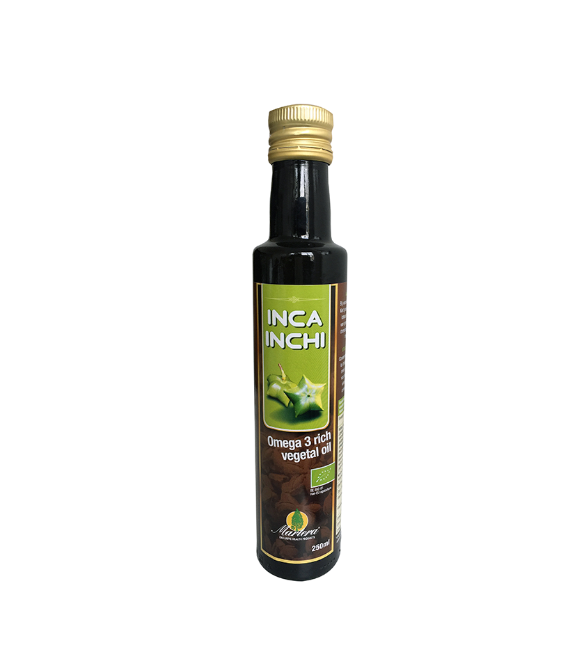 INCA INCHI ulei vegetal bogat in Omega 3 pur – 250 ml
