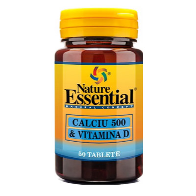 Nature Essential CALCIU 500 & VITAMINA D
