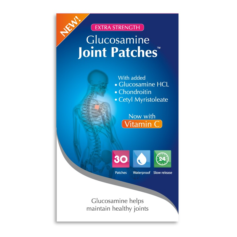 Snowden GLUCOSAMINE JOINT PATCHES - plasturi pentru articulatii – 30 patches