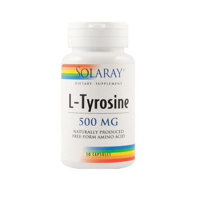 L-Tyrosine 500mg Solaray