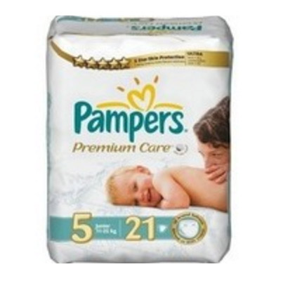 Pampers Premium Care Nr. 5 (11 - 25 kg) x 21 buc