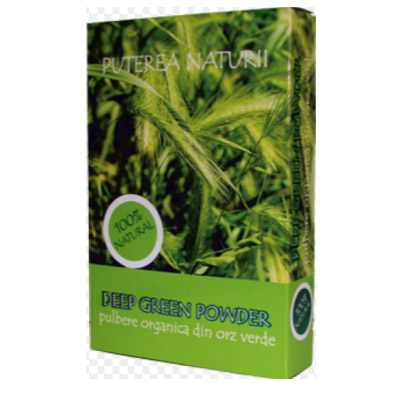 DEEP GREEN - Pulbere din Orz Verde Health Drink