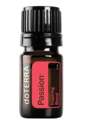 DoTerra ulei esential Passion, doTERRA, pentru energie, entuziasm si creativitate, 5 ml + recipient roll-on + eBook doTERRA