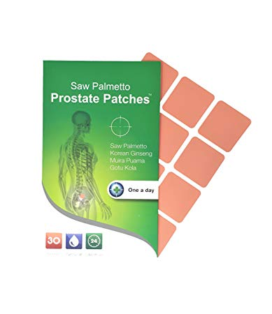 Snowden SAW PALMETTO PROSTATE PATCHES - plasturi pentru prostata – 30 patches