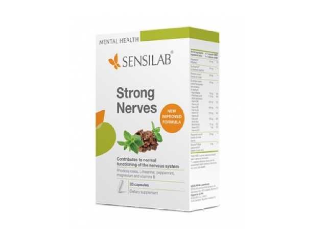 SensiLab STRONG NERVES x30 caps antistres