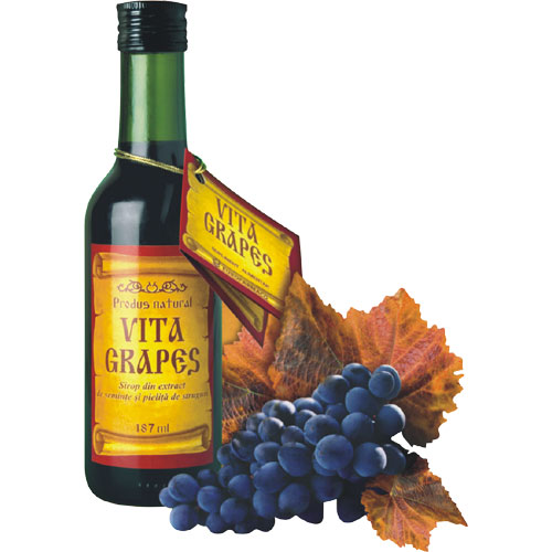 Vita Grapes Sirop 187 ml