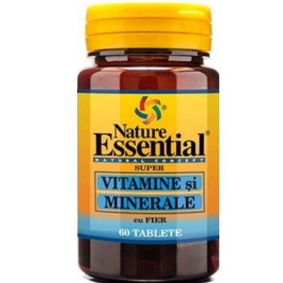 Nature Essential  VITAMINE si MINERALE cu FIER