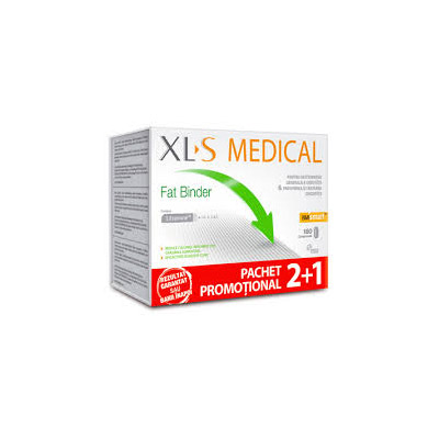 Oferta XLS MEDICAL Fat Binder 2+1 Gratis